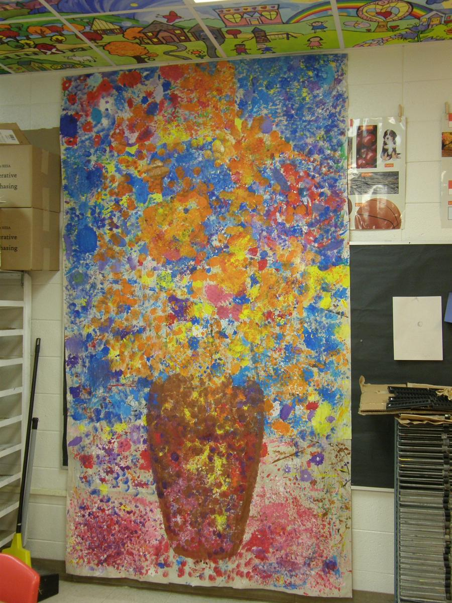 Collaborative Art by BES Students